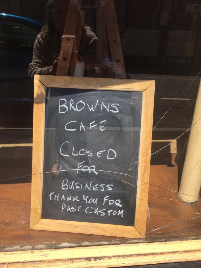 Browns closes