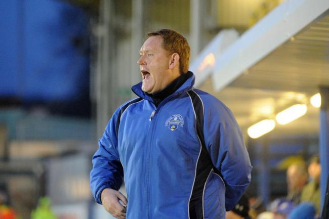 Morton manager David Hopkin