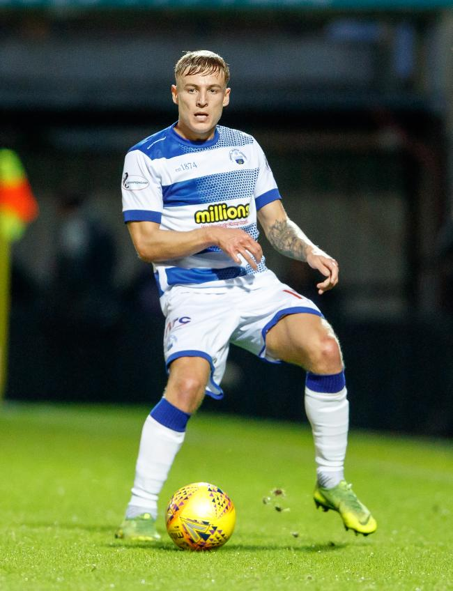 Salkeld hopes to keep place in Morton first team