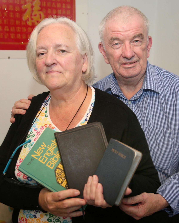 Bibles found dumped in bin   Greenock Telegraph