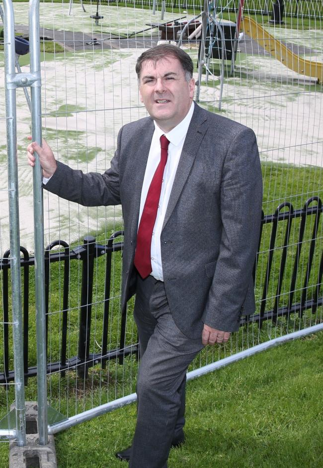 Inverclyde Council leader Stephen McCabe.
