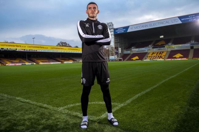 Adam Livingstone has his sights set on a regular place in the Motherwell first-team line-up..