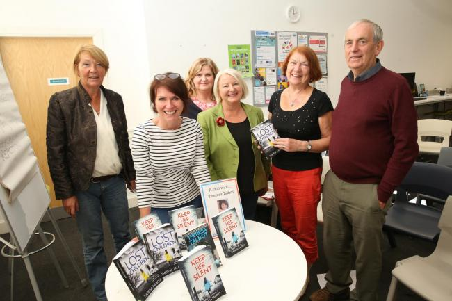 Author Theresa Talbot visits South West Library, Greenock.