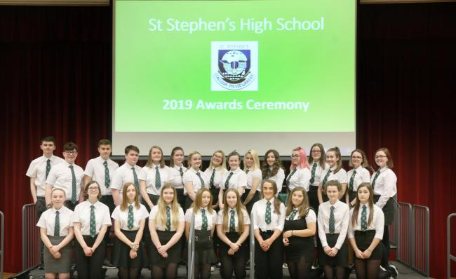 St Stephen's High School prizegiving.
