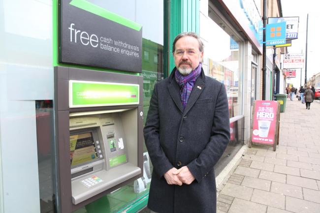 Ronnie Cowan MP comments on ATM charges.