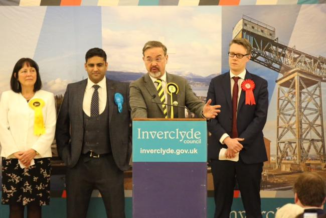 Inverclyde general election 2019 result. Photo: George Munro.