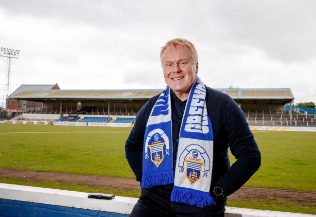 23.05.2019   Greenock Morton appoint David Hopkin as their new manager with Anton McElhone as his assistant. Dave MacKinnon is the new Chief Executive Officer ............   PIC SHOWS DAVE MACKINNON.