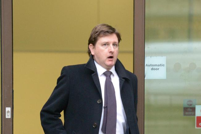 Matthew Feargrieve leaves Westminster Magistrates after being sentenced (Nick Ansell/PA)