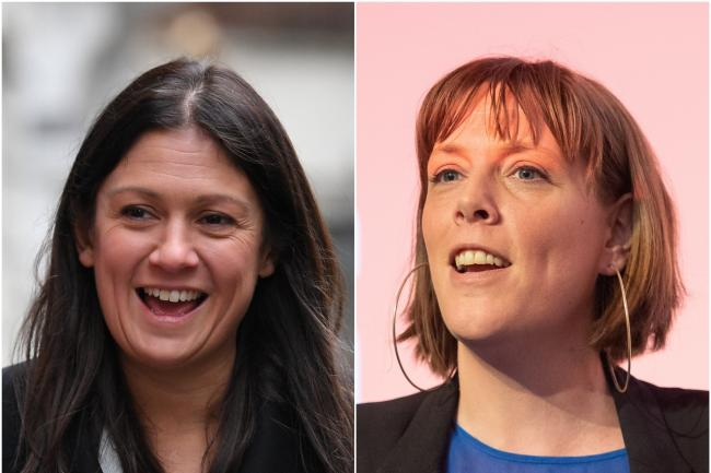 Lisa Nandy and Jess Phillips