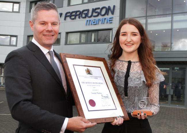 Top Apprentice Wins National Award Greenock Telegraph