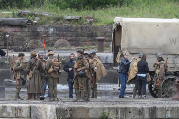 Greenock Telegraph: Filming of 1917