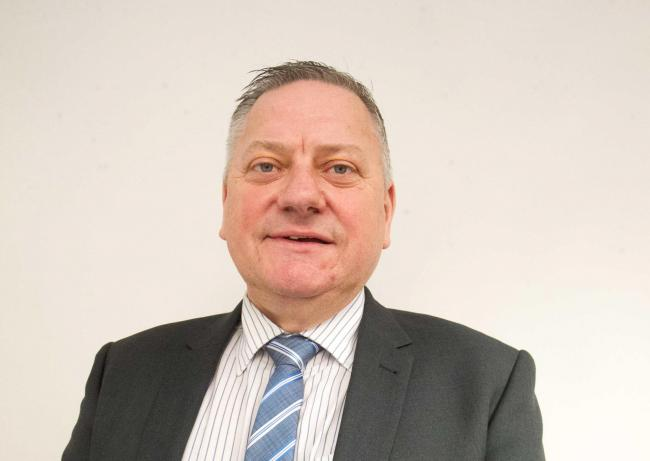 Greenock councillor Jim McEleny. Photo: Alex Craig..