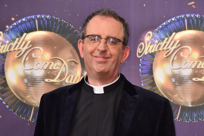 Rev Richard Coles at the launch of Strictly Come Dancing 2017