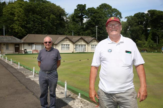 Joe Carruthers and Sammy Hunter pandemic woes of Lady Alice Bowling Club.