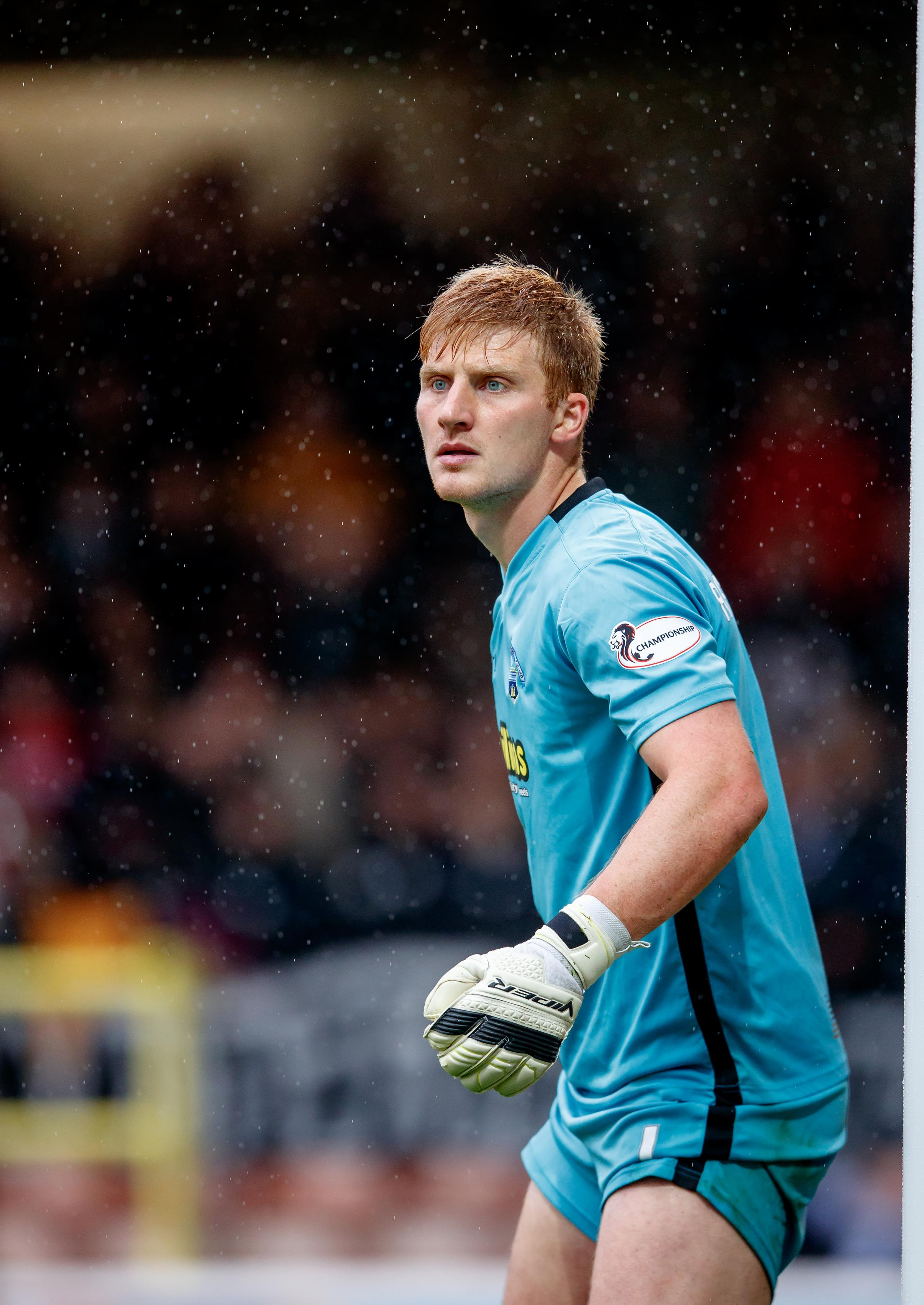 Ex-Morton keeper: 'I've felt like walking away from football'