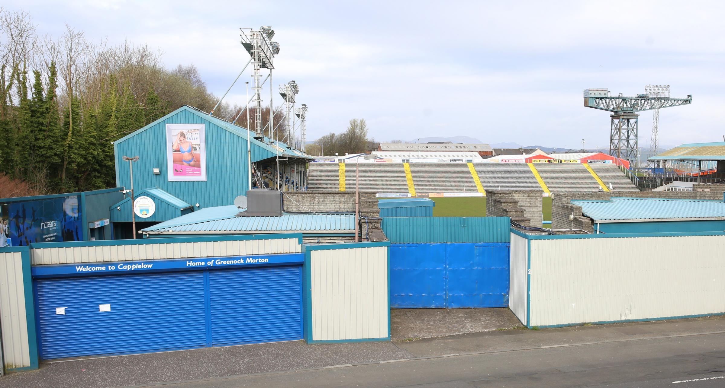 Morton v Dunfermline tickets on sale