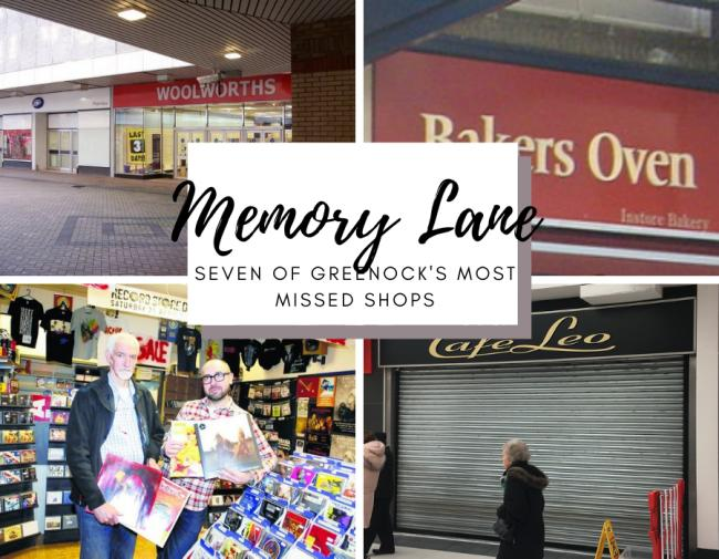 Memory Lane: Seven of Greenock's most missed shops