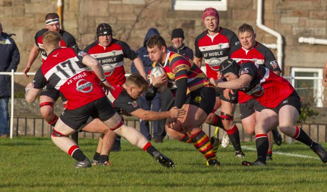 Greenock Wanderers v Lasswade. Picture by Campbell Skinner.