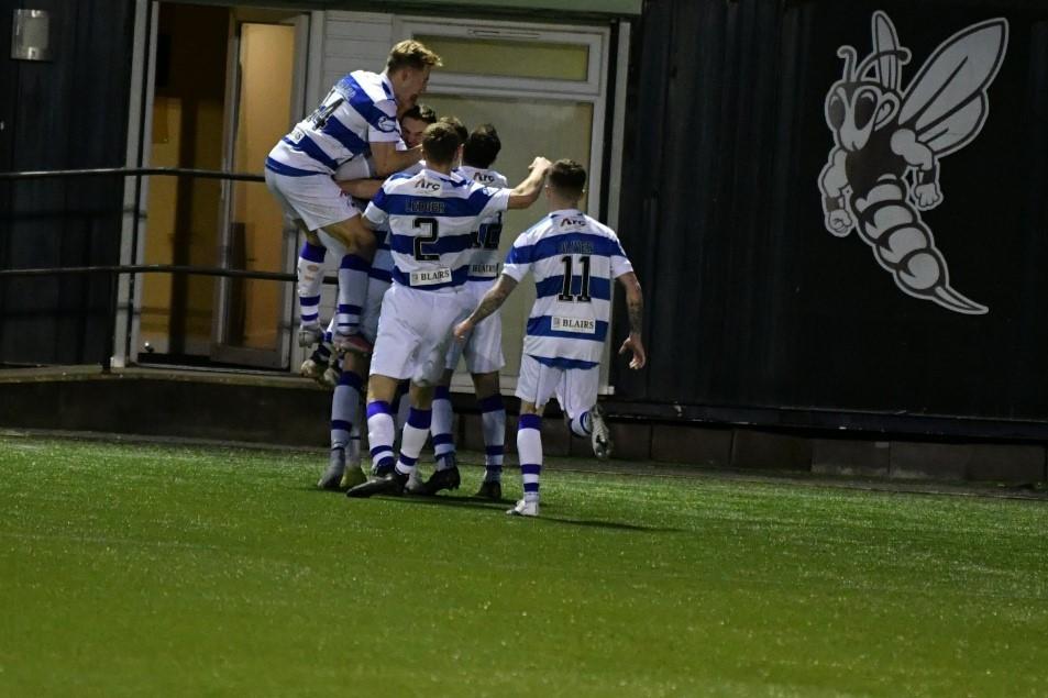 Morton defender Fjortoft predicted first career goal
