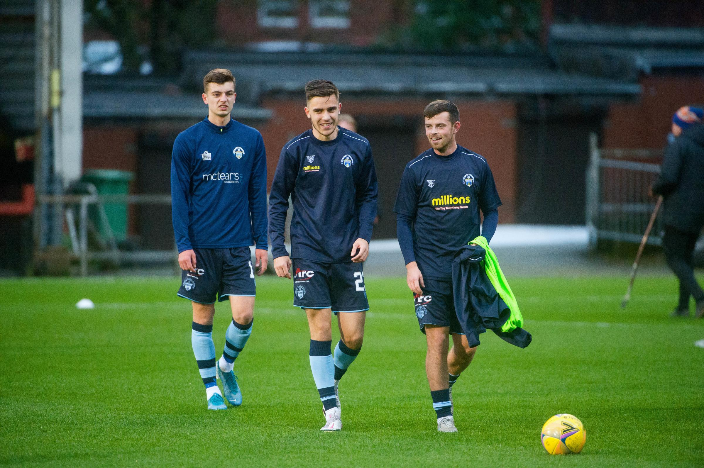 Luca ready to grab chance in Morton first team