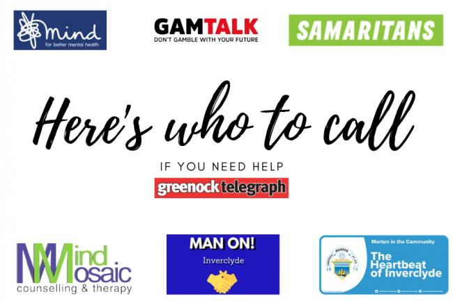 Helpline Numbers and Organisations for those struggling with mental health issues