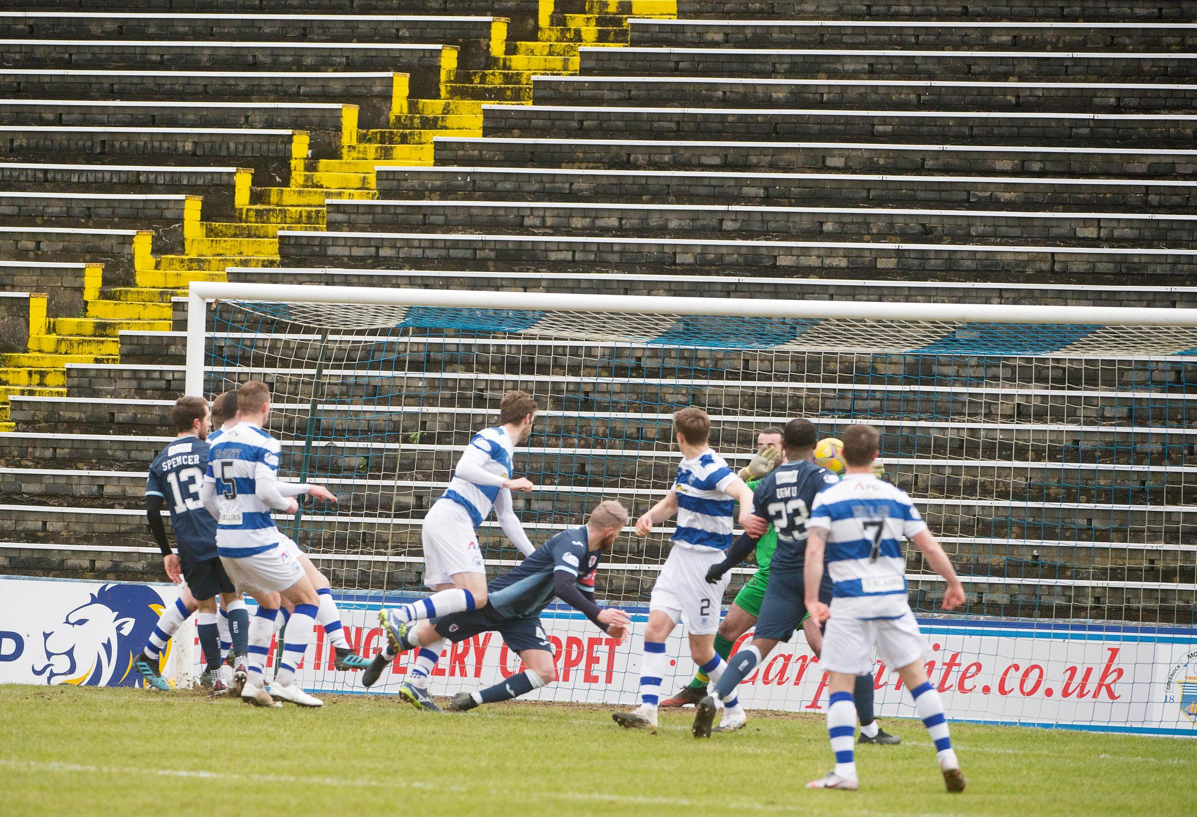 Picture gallery: Morton 0 Raith Rovers 1