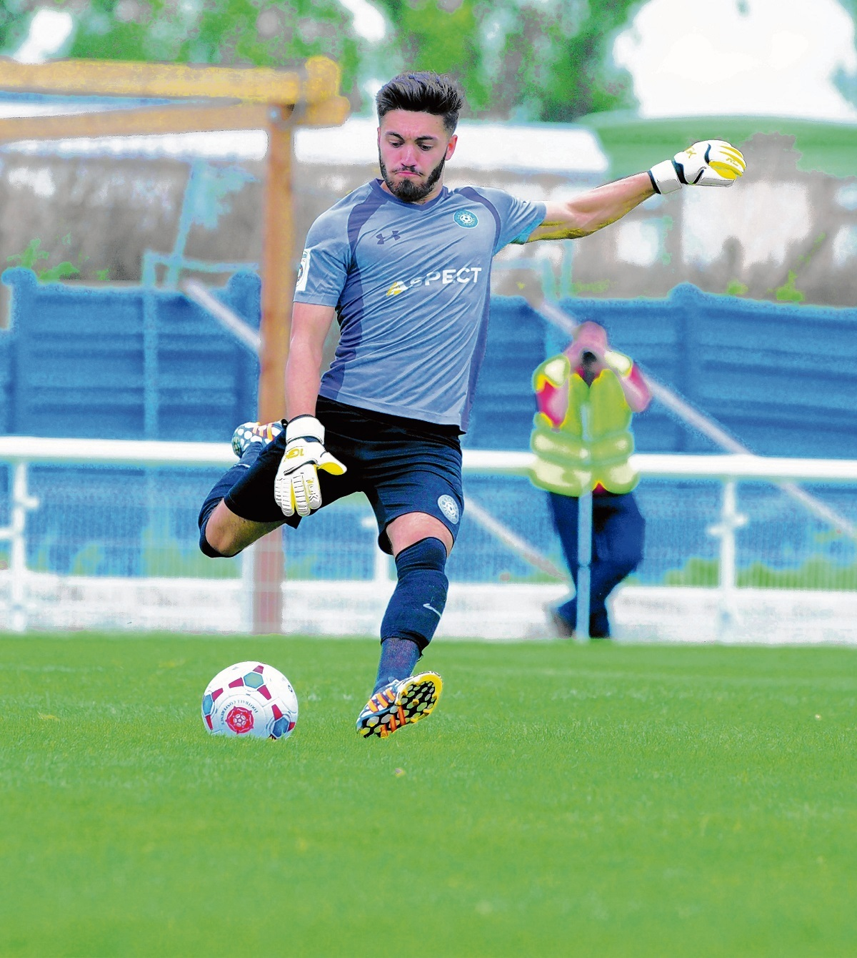 Former Spurs 'keeper Jamie Butler wants to grab chance at Morton