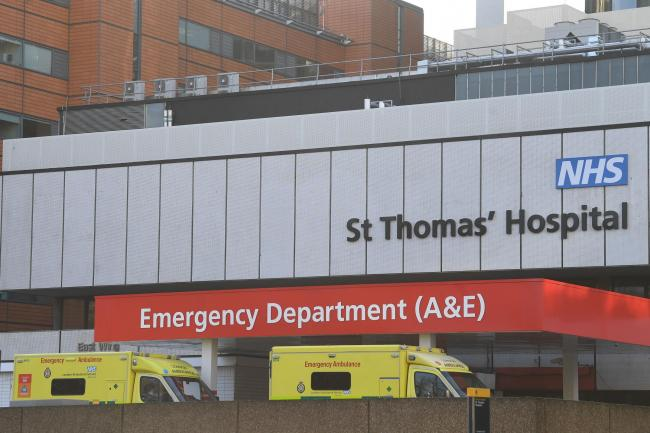 St Thomas' Hospital in central London