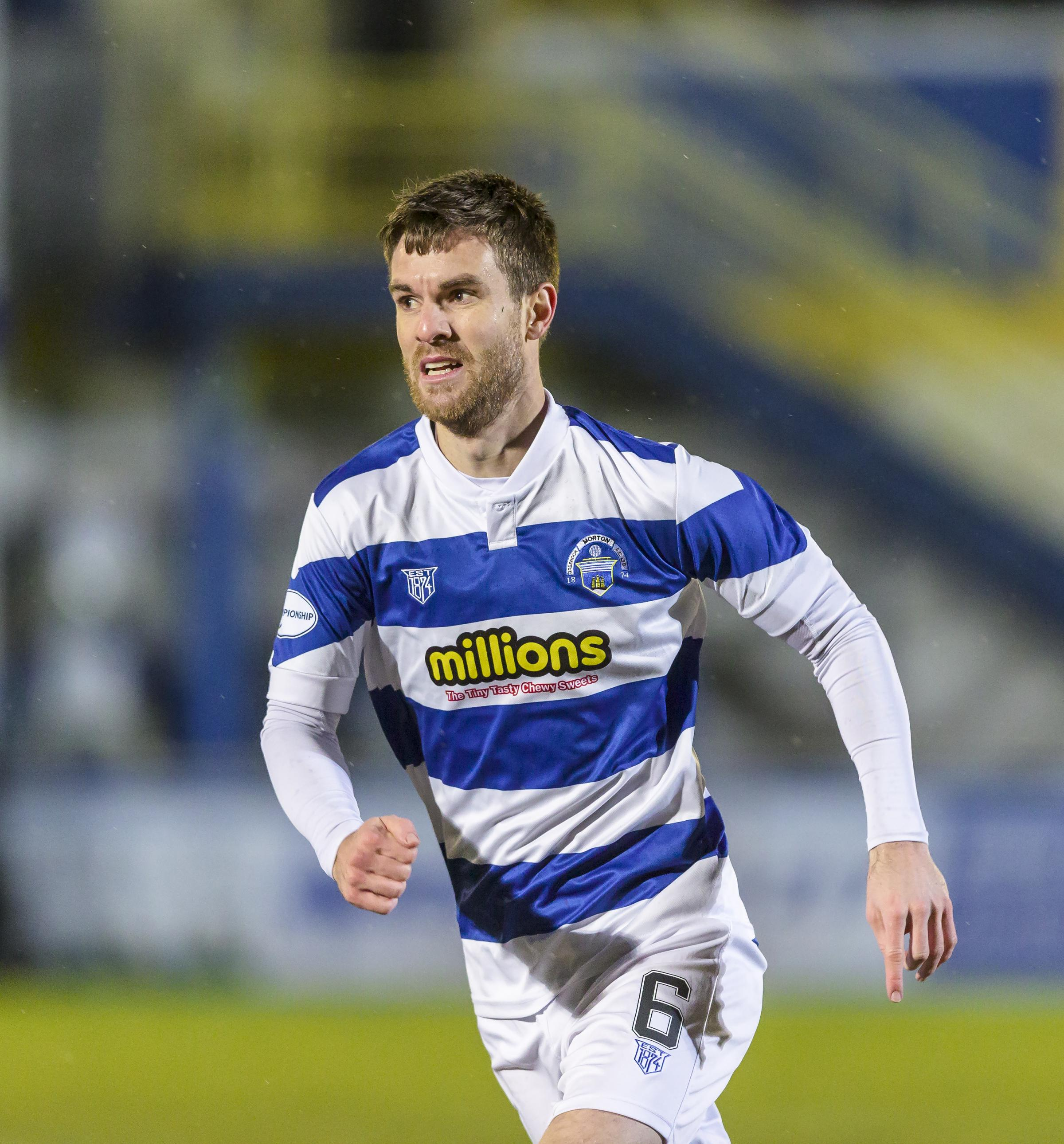 Jacobs confident winning at Inverness can turn Morton's season around
