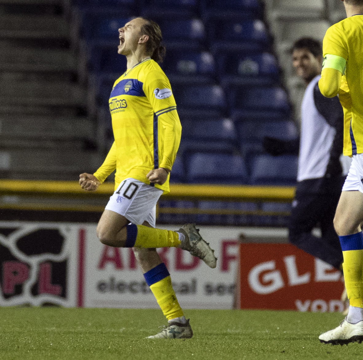 Morton man Aidan Nesbitt says 'weight has been lifted' after Inverness win