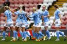 Manchester City's Chloe Kelly celebrates scoring (Action Images via Reuters/Jason Cairnduff)