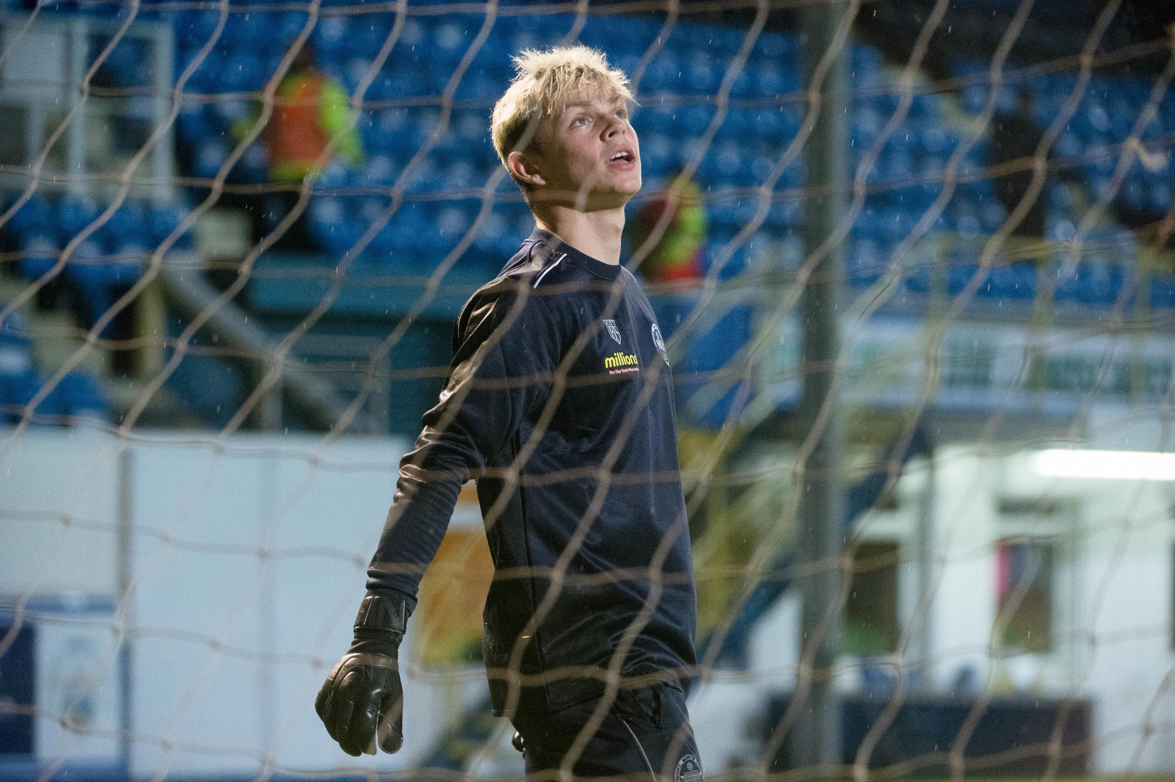 New Morton 'keeper says he wants youngster to reach next level