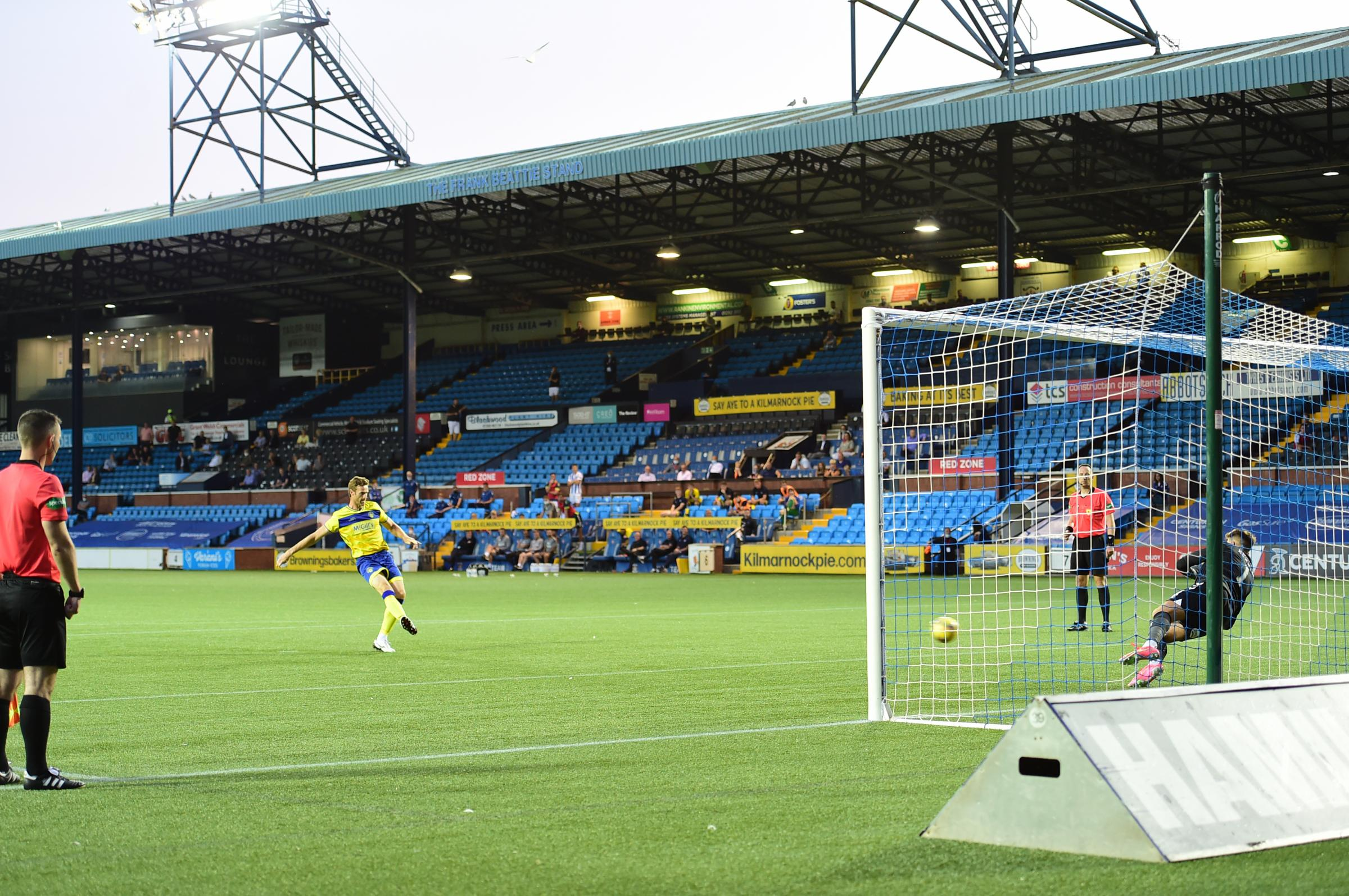 PICTURE GALLERY: Morton lose in penalty shoot-out  against Kilmarnock