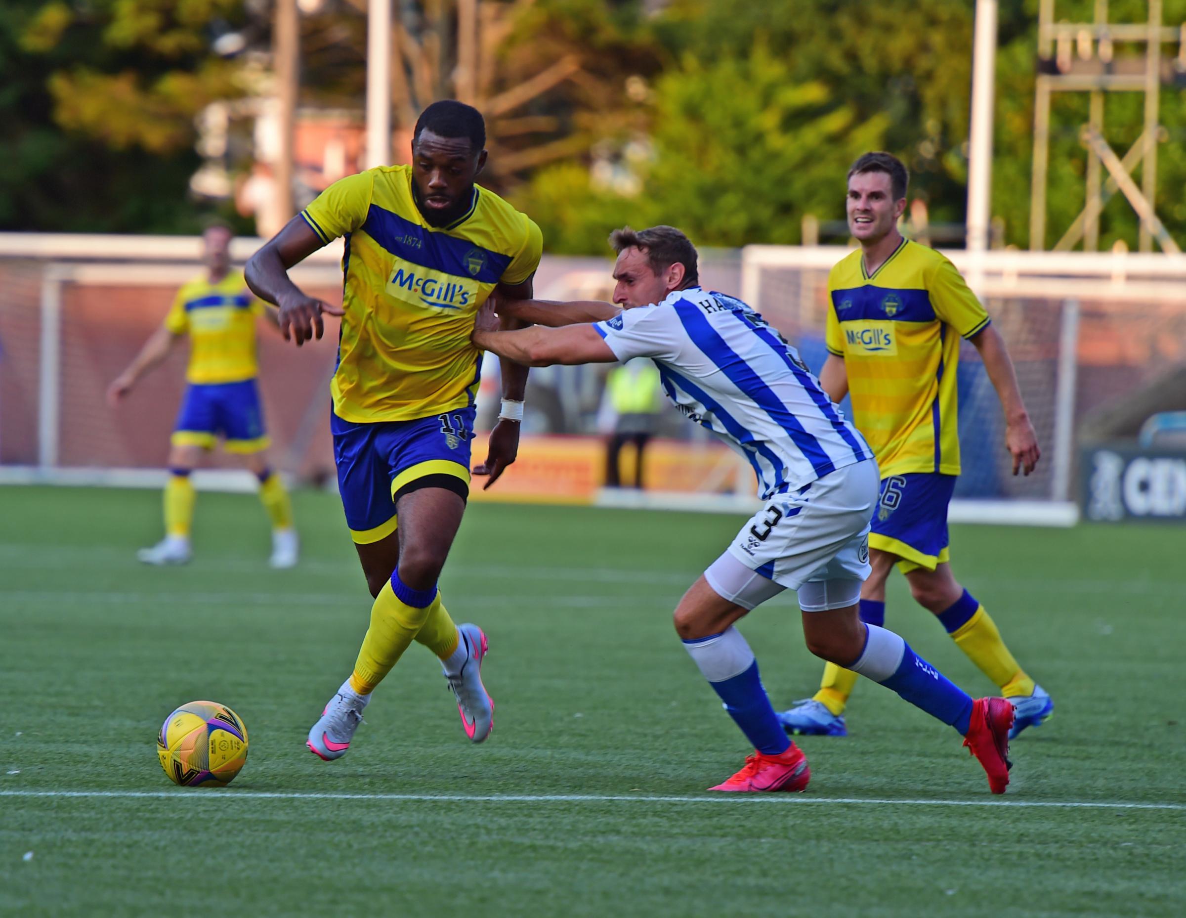 Morton striker Gozie Ugwu confident goals will come