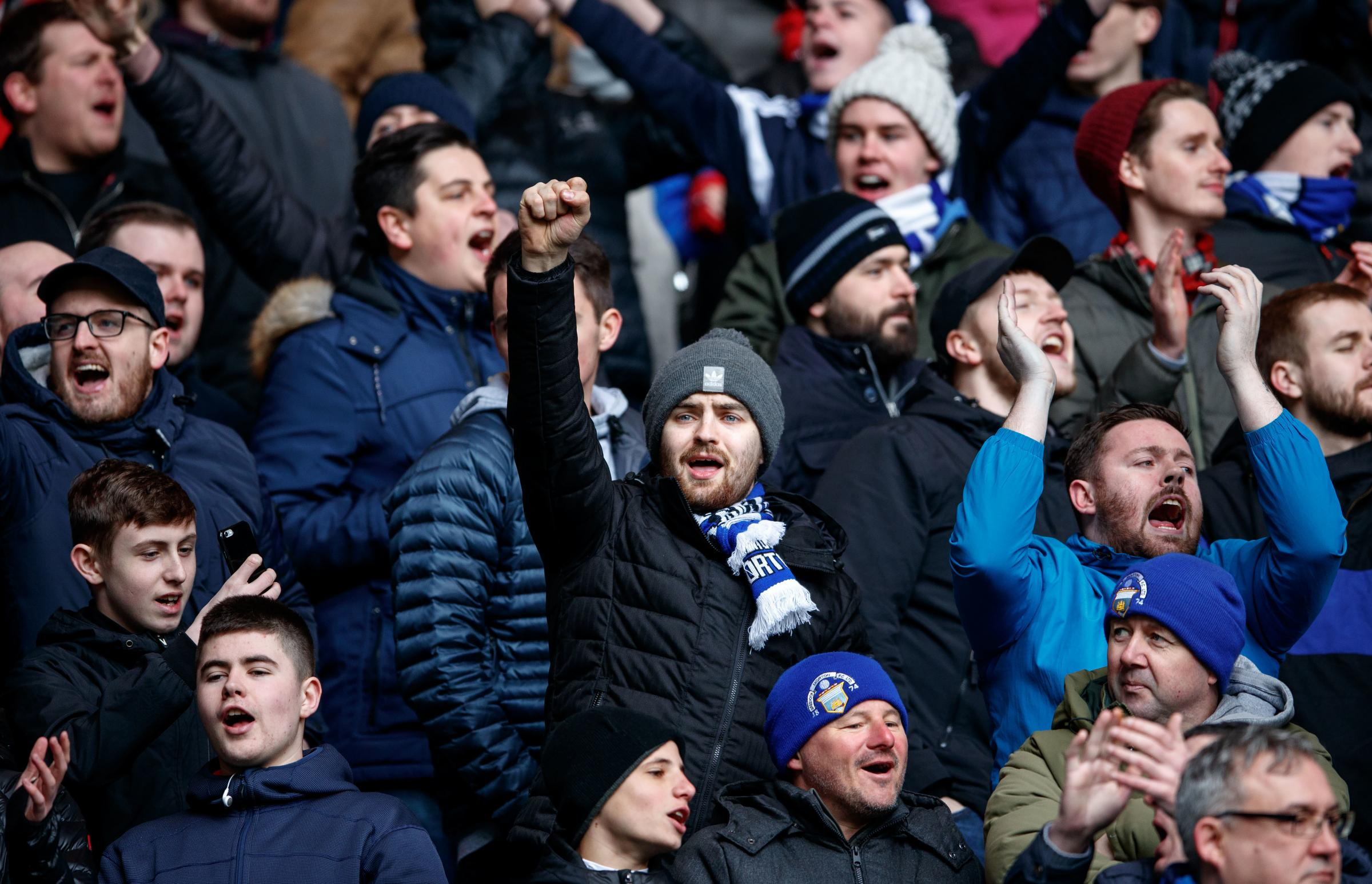 Morton fans set for first away game in year and a half at Hamilton