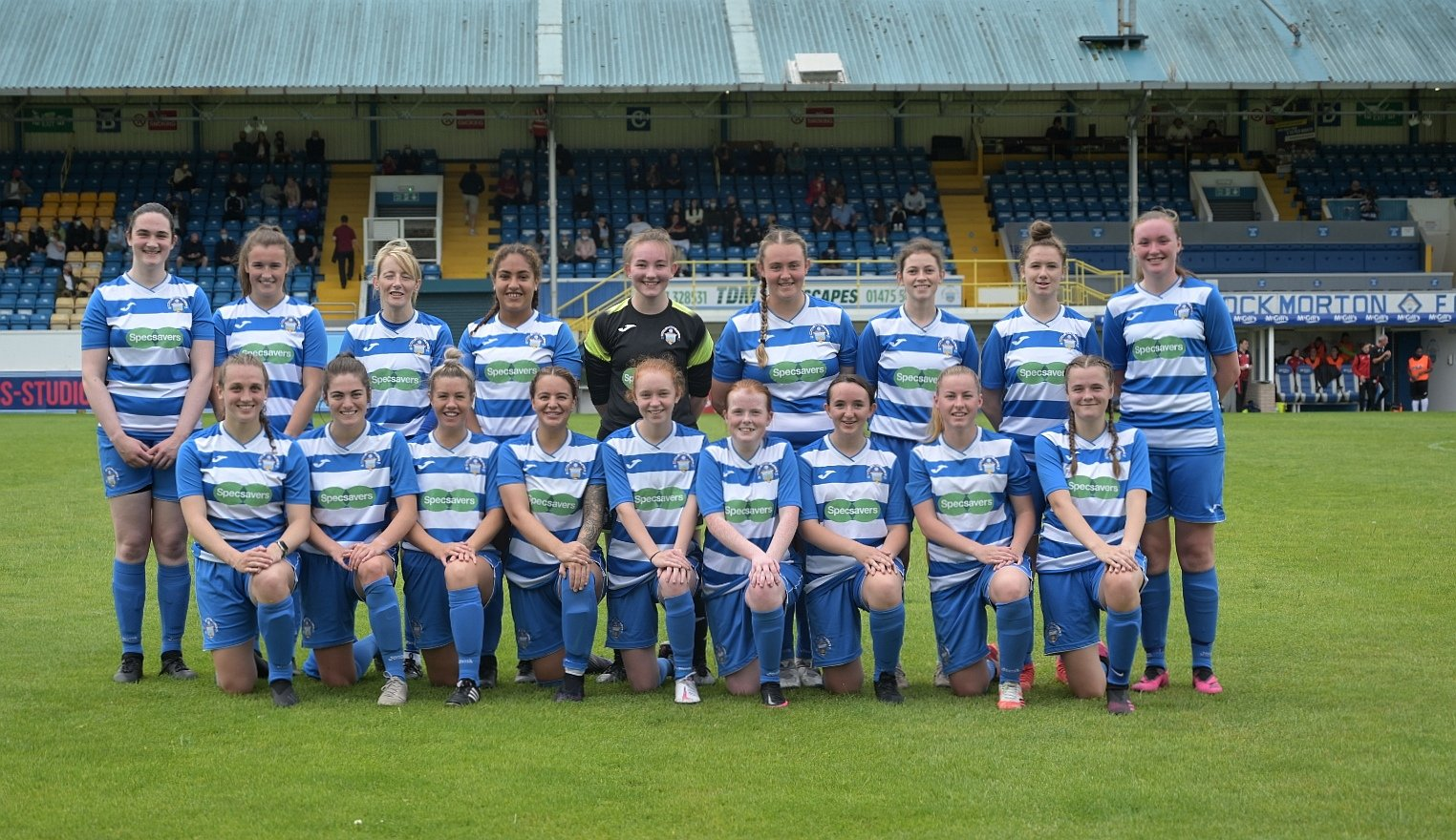 Morton Women defeated by St Mirren on derby day at Cappielow