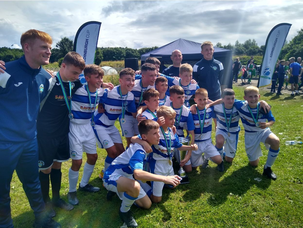 Morton youth teams celebrate Edinburgh Cup success