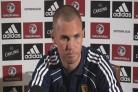 Press conference with Kenny Miller