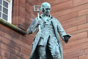 James Watt statue set for makeover
