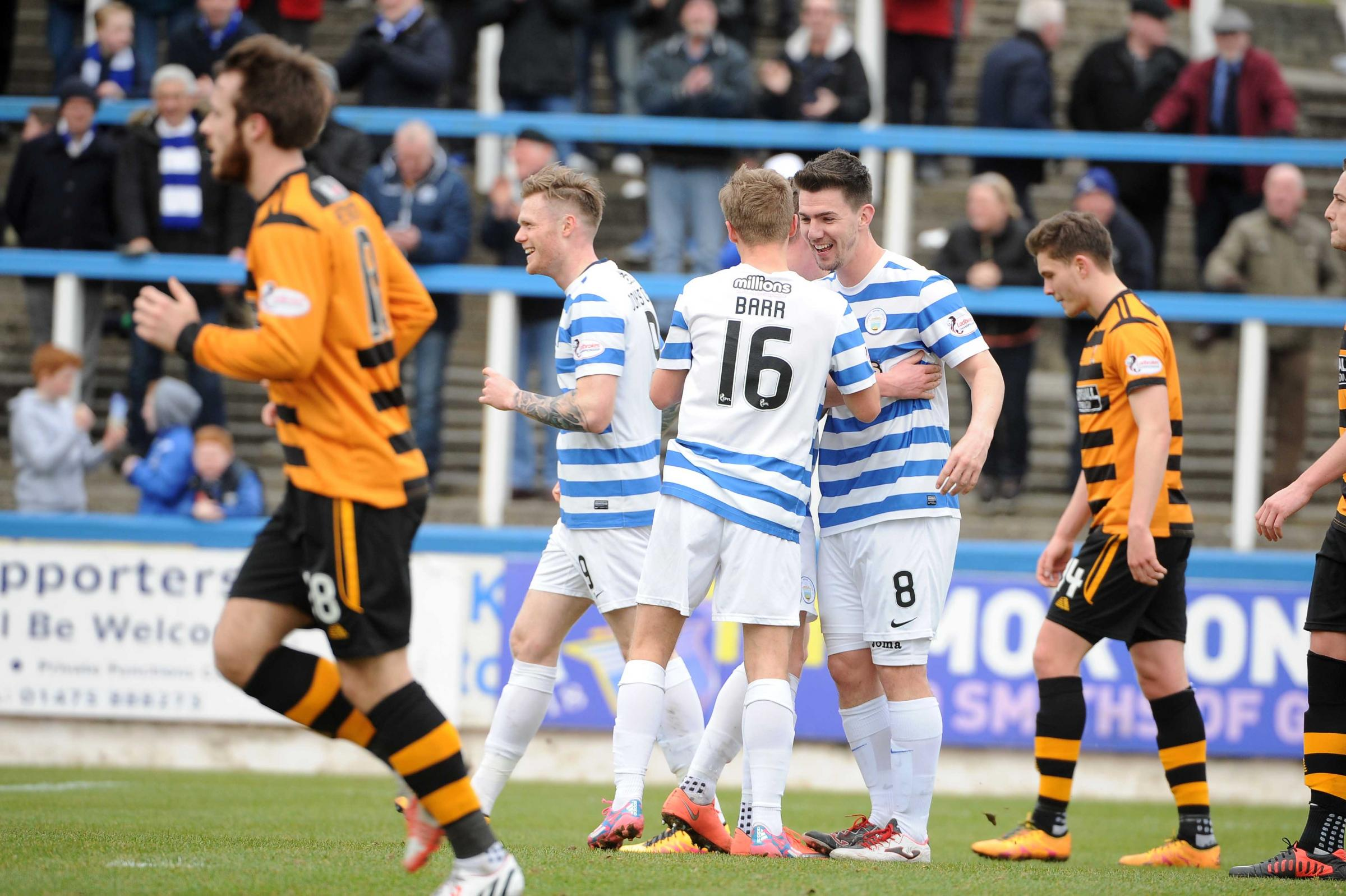 Ross given goal against Alloa but no double for Morton striker Declan