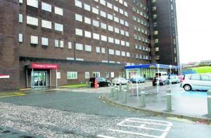 The victim was taken to A&E at Inverclyde Royal