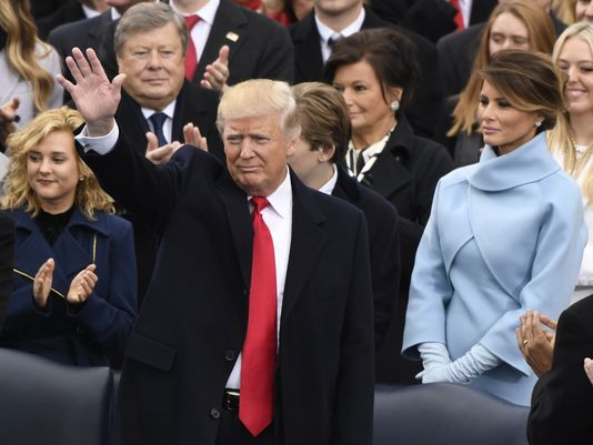 Donald Trump inauguration live:  Latest from Washington, D.C as America swears in 45th President
