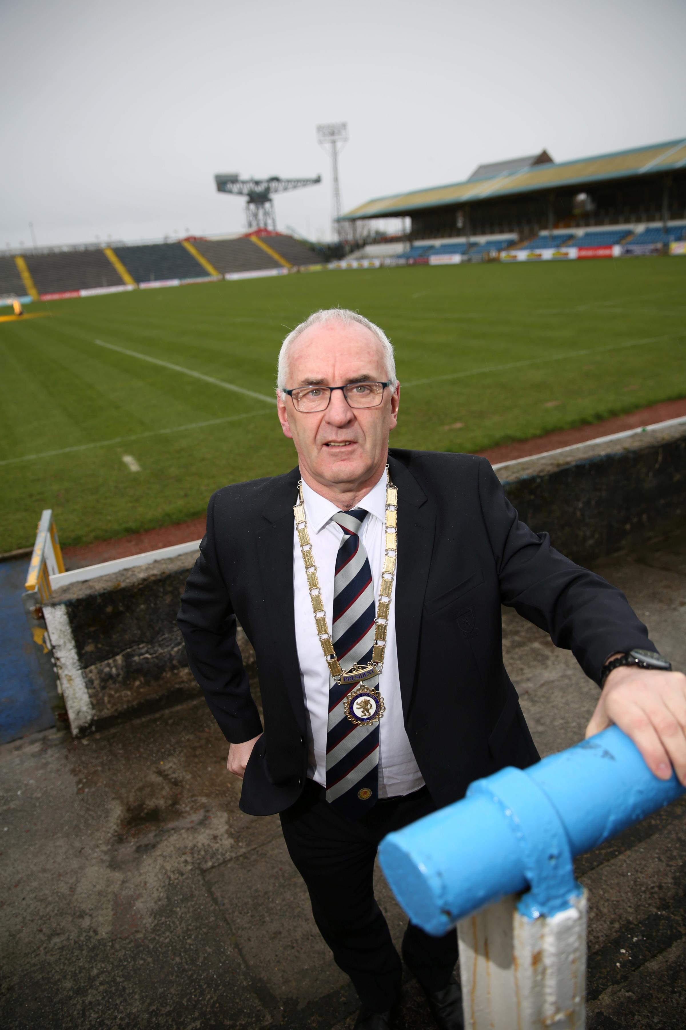 Cappielow to host Auld Enemy clash