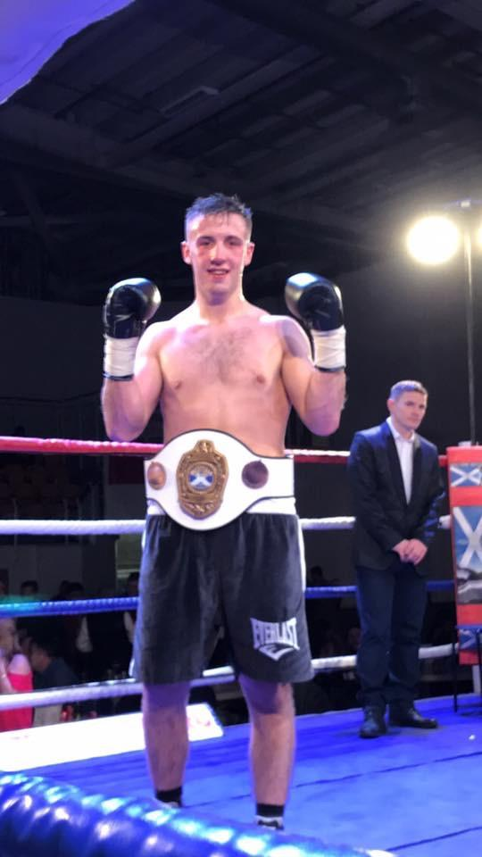 Greenock fighter's delight at first title win