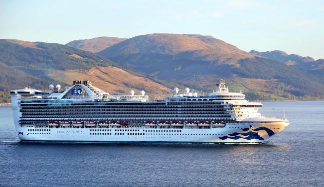 Cruise Ship In Greenock After Multimillion Pound Refit Greenock - Cruise ships at greenock