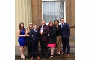 MBE for Greenock college worker who supports students