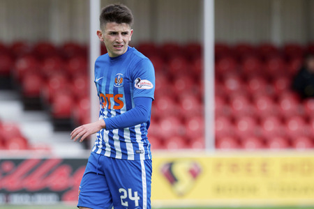 Gourock teen Taylor relishes chance to face England Under-21s