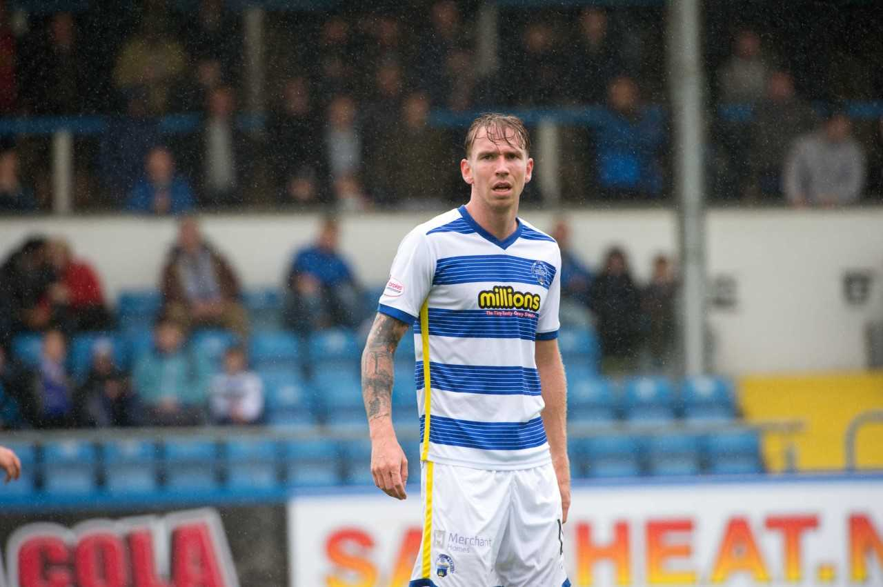 Morton striker Thomson vows to win back starting place