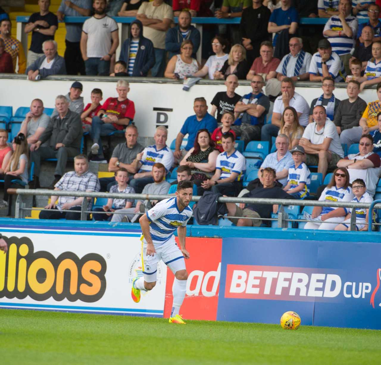 Morton defender Lamie pleased with East Kilbride test