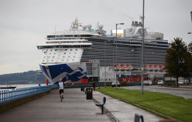 Bosses Prepare For A Busy Cruise Season In Greenock Greenock - Cruise ships at greenock